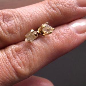 Jewelry - Herkimer diamond earrings